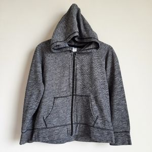 2/$15 Old Navy Boys Hooded Zip Up Jacket - Large